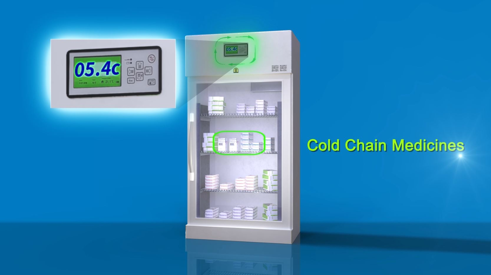 Cold Chain Medicine in Refrigerator